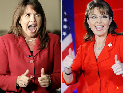 funny Christine O'Donnell Sarah Palin together again