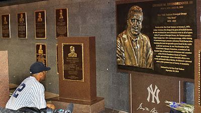 george steinbrenner big plaque