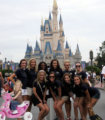 my hot chick friends at Disney World