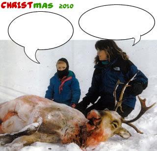 funny sarah palin christmas