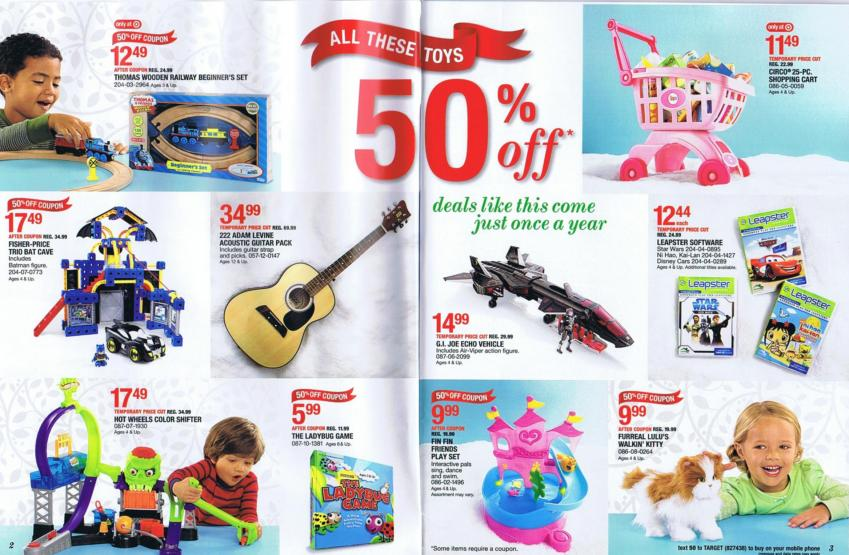 Target Toy Book 2013 : Toy catalogs wow