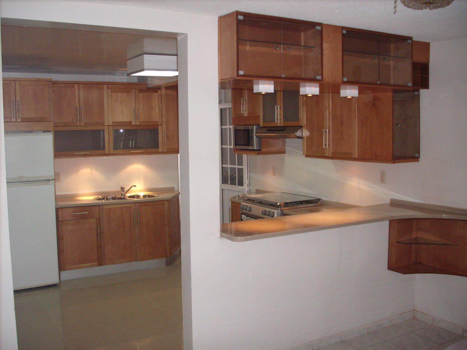 Heynez cocinas modernas cocina en maple solido natural for Cocinas de madera modernas 2016