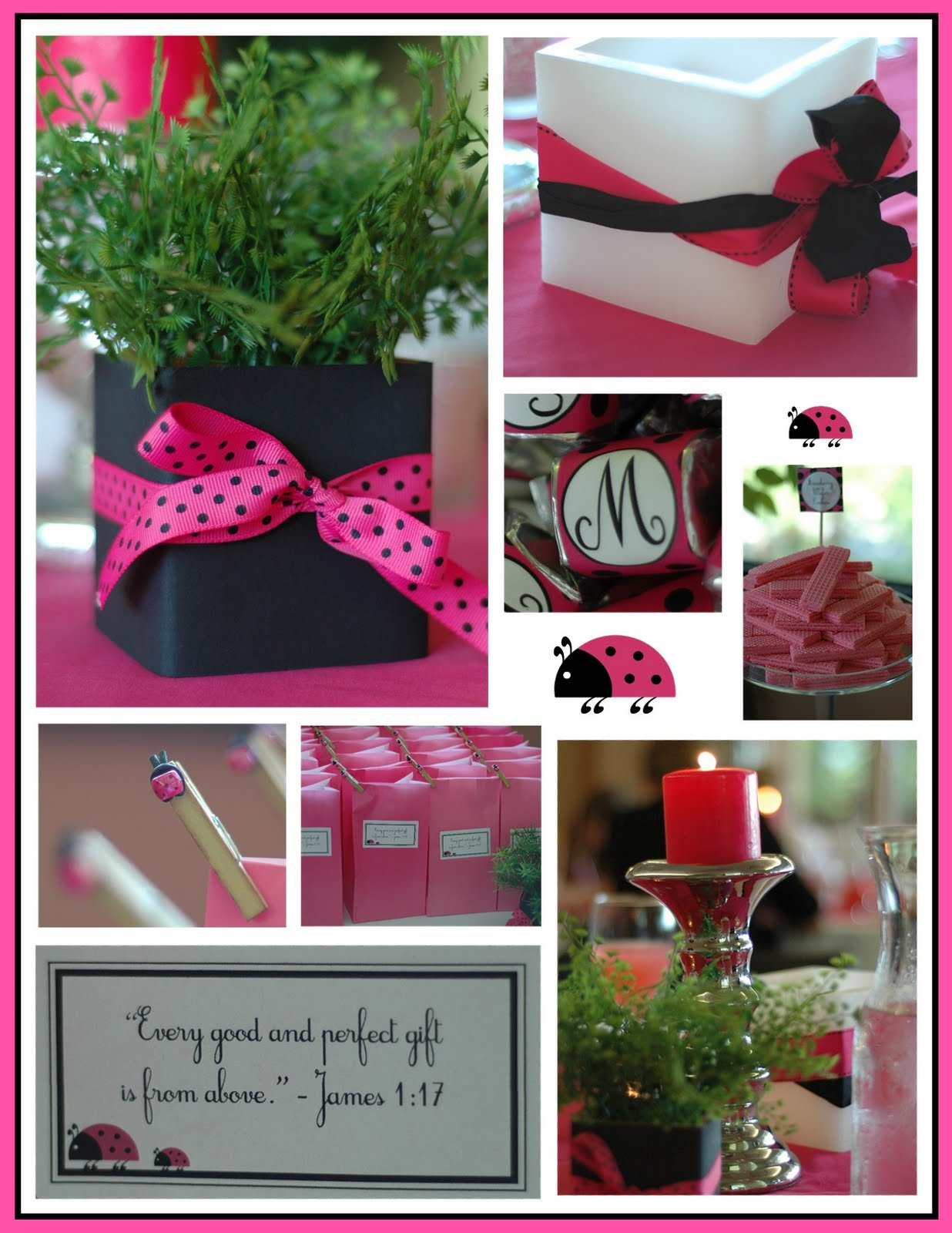 Ladybug Baby Shower Table Ideas Photograph | Toymaking ( Bar