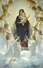William-Adolphe Bougereau, The Virgin With Angels, 1900