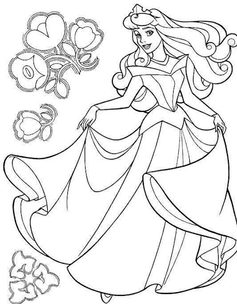 Disney Sleeping Beauty Dragon Coloring Pages