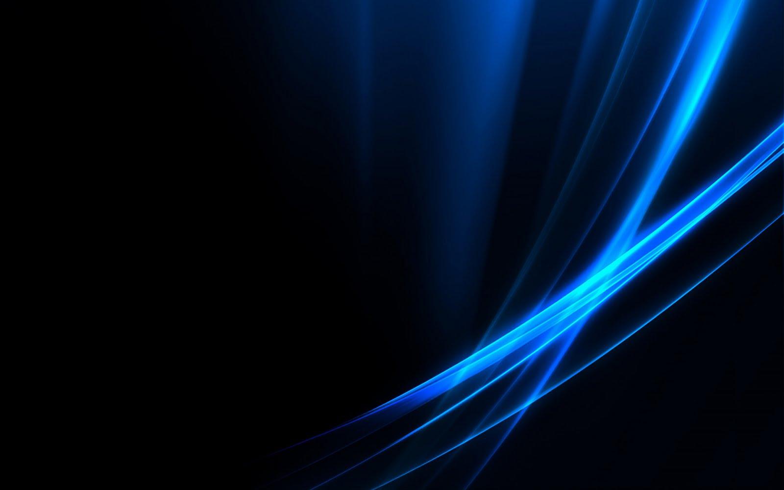 un fondo de pantalla oscuro con destellos azules serio pero con estilo ...