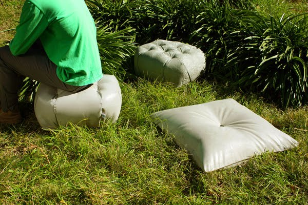 gjuta betong trädgård