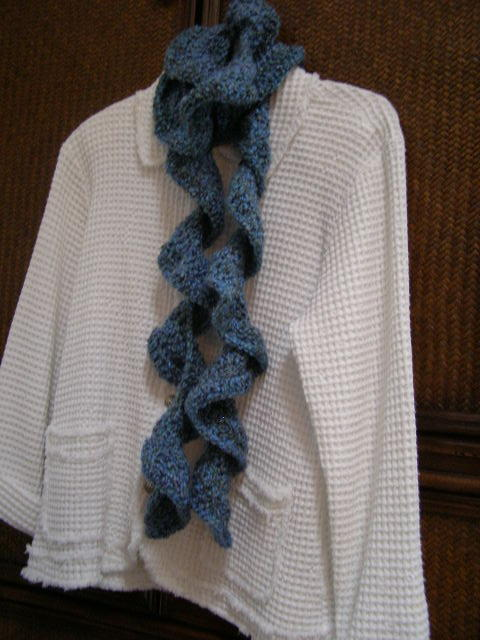 Knit crochet ruffle scarf patterns - Providence knitting