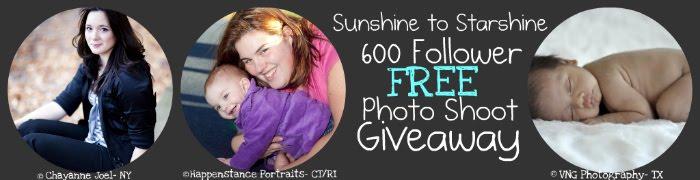 Sunshine to Starshine Photo Shoot Extravaganza