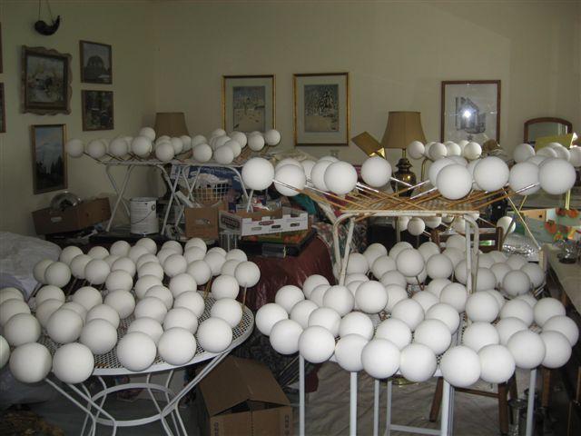 Xmas Foam Balls Ornaments-Xmas Foam Balls Ornaments Manufacturers