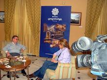 Entrevista con Matilde Cabello para la TVM.