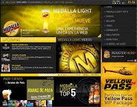 Screenshot of MedallaLight.com
