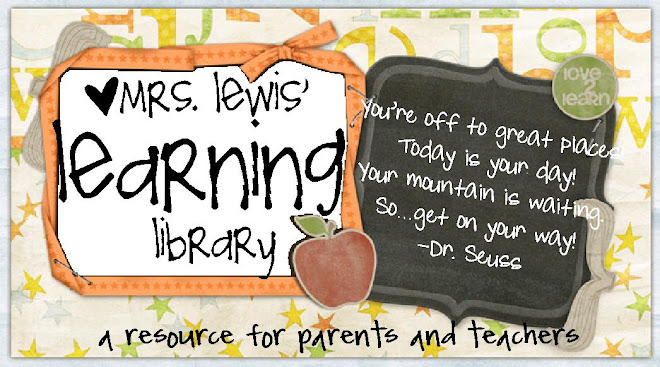 Mrs. Lewis&#39; Learning Library