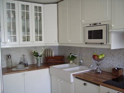 Nostalgi och romantik : köket, Äntligen lite bilder!
