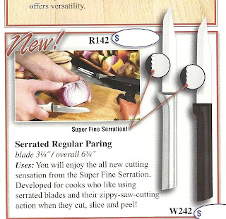 Rada Serrated Paring Knife