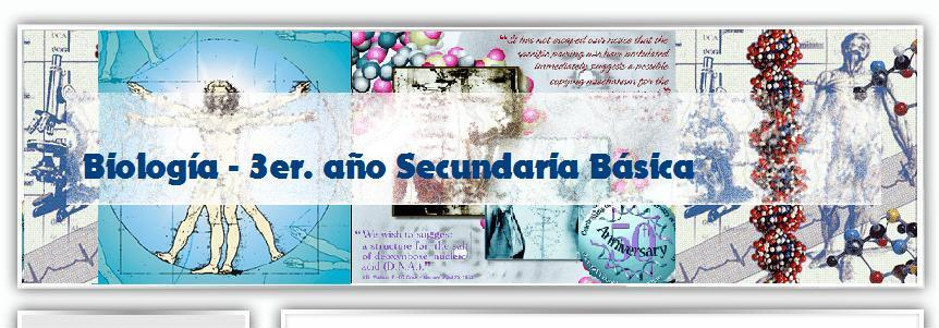 Biología 3er. año Secundaria Básica