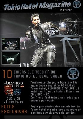 Universal Music Brasil lanza una revista de Tokio Hotel Universal+Music+Magazine