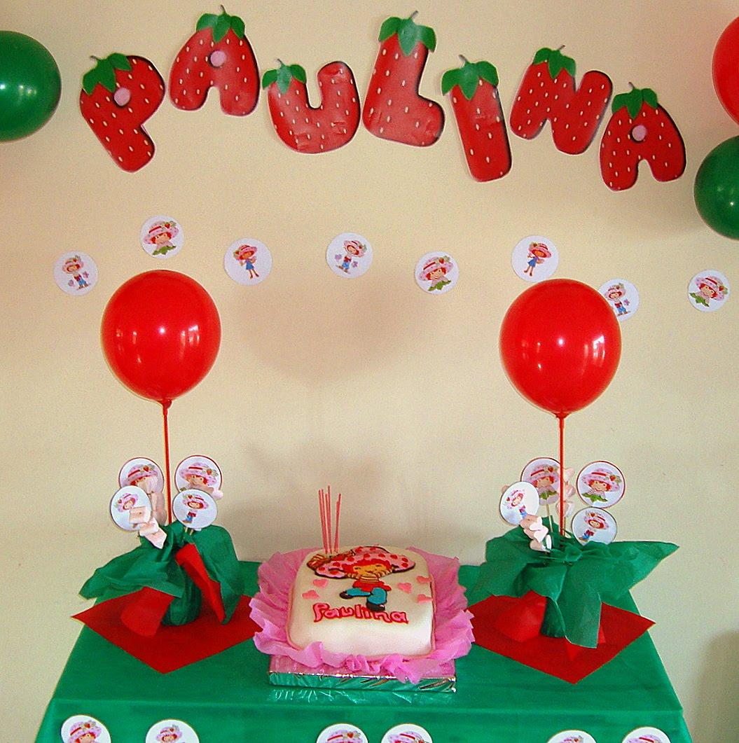 DISEÑO Y DECORACIÓN: Fiestas infantiles.