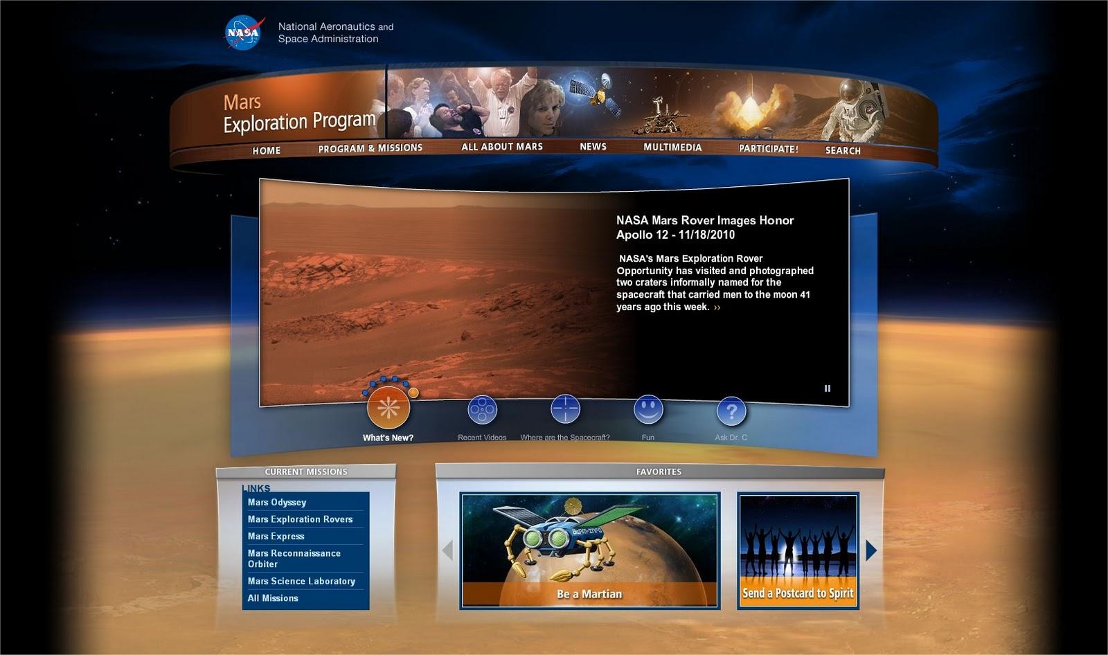 nasa mars exploration program - photo #2