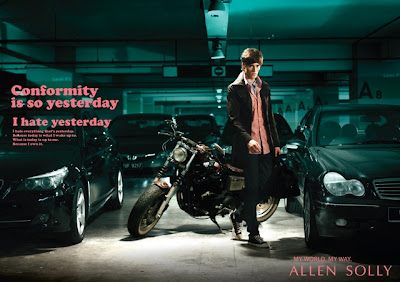 Evgeniy Kolotov for Allen Solly campaign