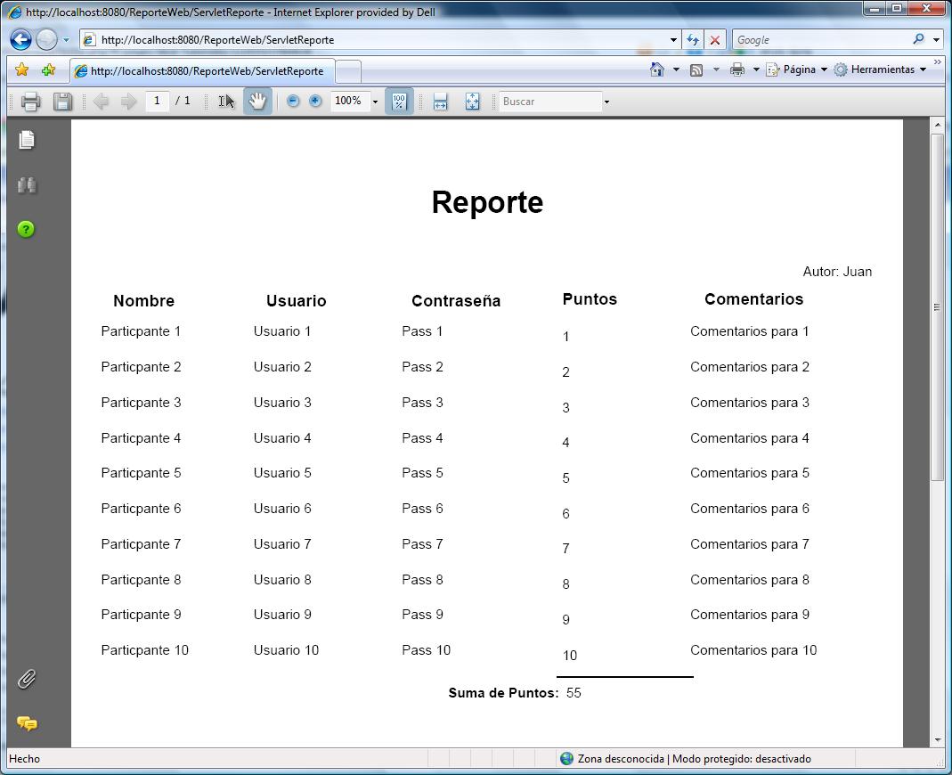 Reportes con jasperrepots y ireports parte 4 reportes en