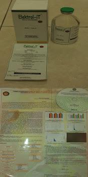 contoh CD pdf + Poster (skripsi) dan wadah sediaan