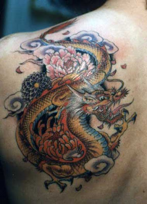 Dragon Tattoo Designs in Color - Dragon Tattoos