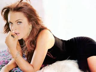 Lindsay Lohan Fine Modern Hair Styles 2010
