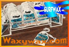 WAXY - A venda nas melhores surfshops