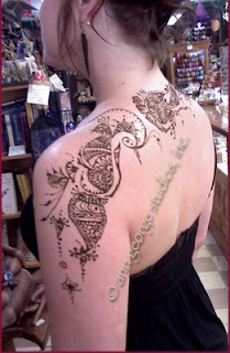henna pattern, henna tattoo design