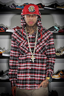 Archrival Vanquish Hooded Flannels Tyga