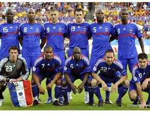 France's World Cup 2010