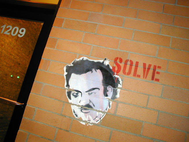 Solve street art