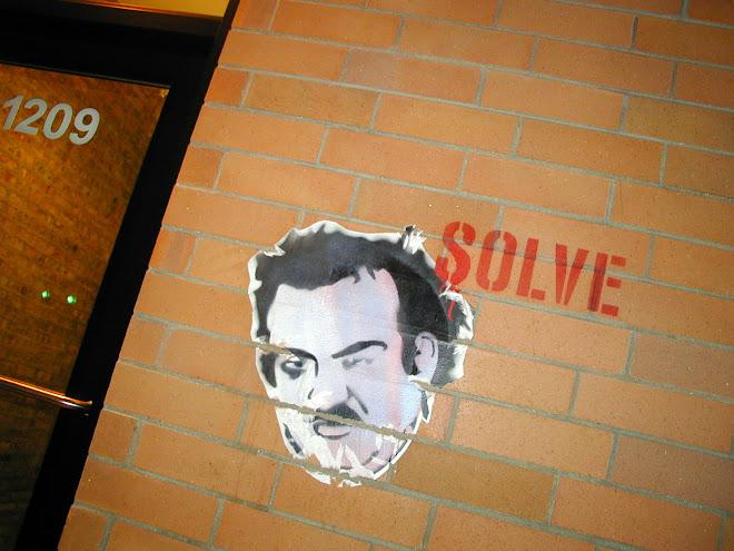 Solve street art