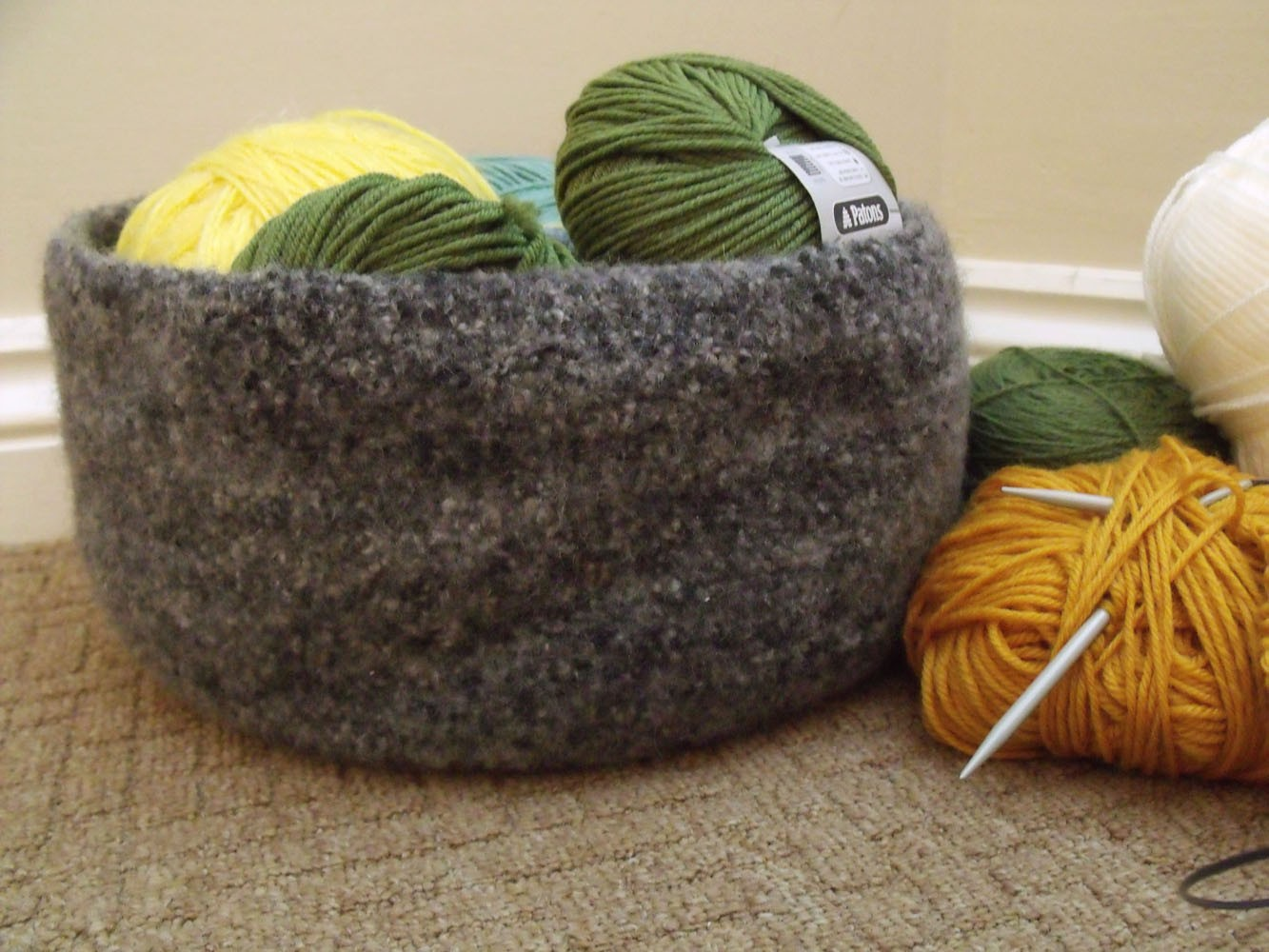 Felt Bowls: A Craft You Can Use | BlogHer
