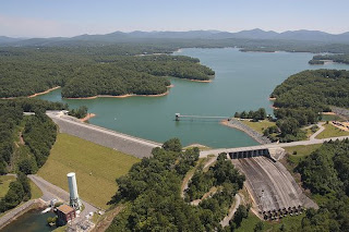 Blue Ridge Dam photo by Ron Mayhew