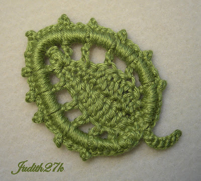 How to Crochet a variation of the leaf pattern « Knitting  Crochet