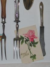 Kjøkkenverktøy i ramme