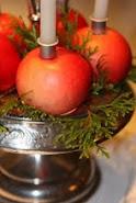 Epler på krydderoppsats