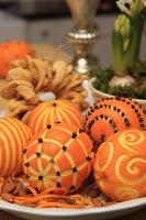 Mønster i appelsinene