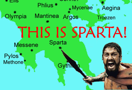 donde queda esparta??