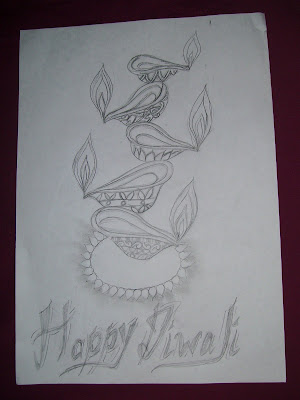Happy Diwali- Meghna's Sketch