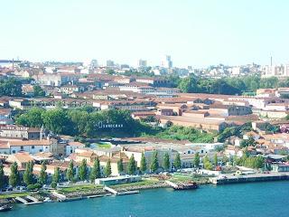 Vista de la ciudad de Oporto