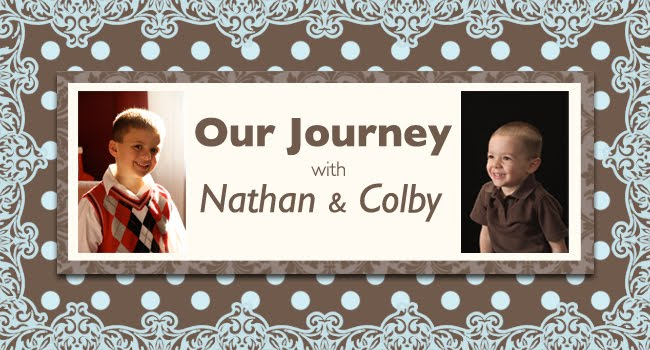 Our journey with Nathan and Colby