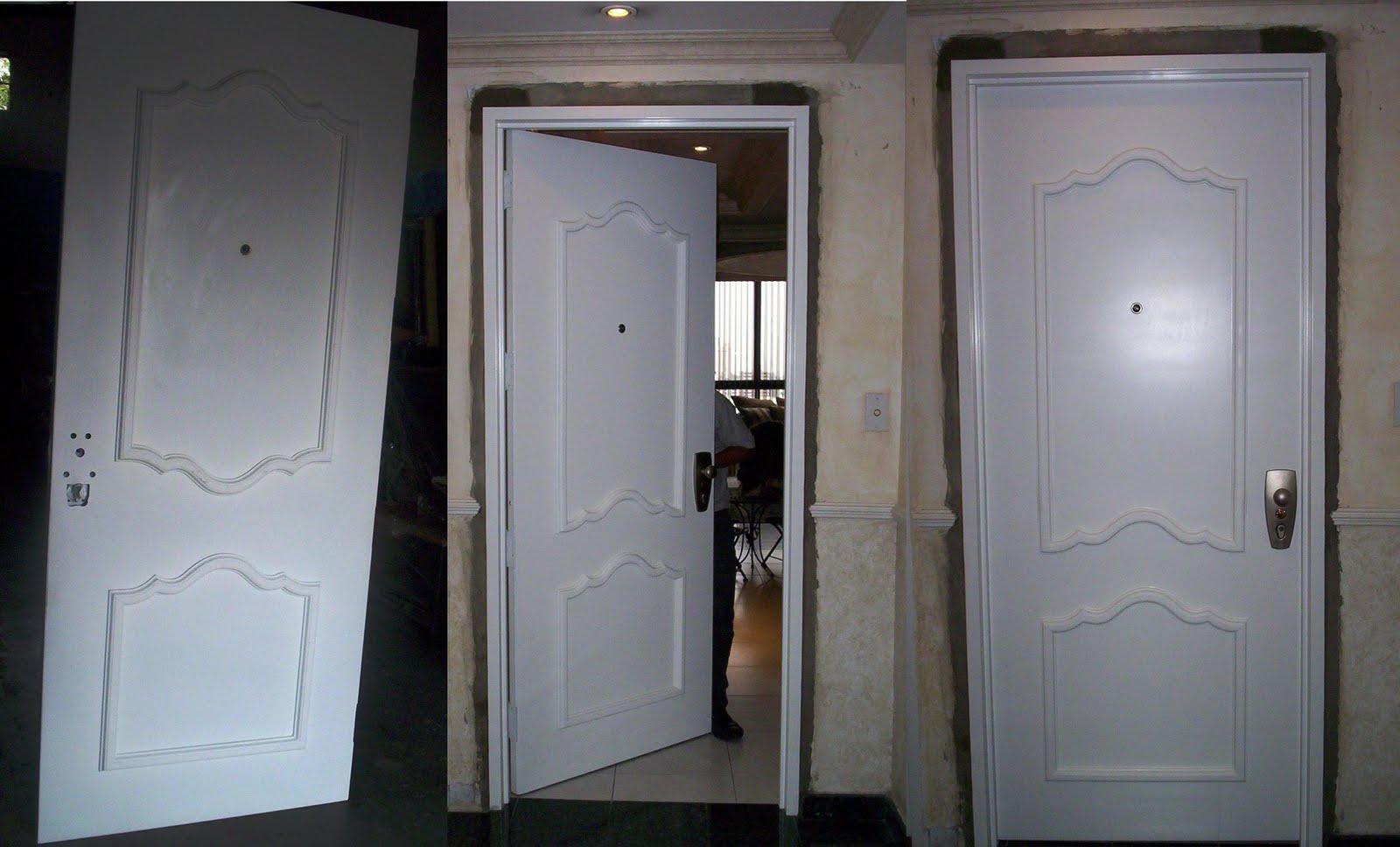 Cerrajeria tecnica especializada puerta lisa tipo c con - Puertas lisas blancas ...