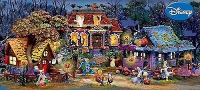 Winnie Pooh Cartoon Halloween Wallpaper