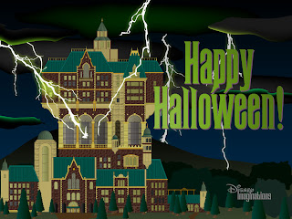 Terror Tower Halloween Wallpaper