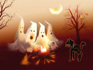 Halloween Ghost Wallpaper