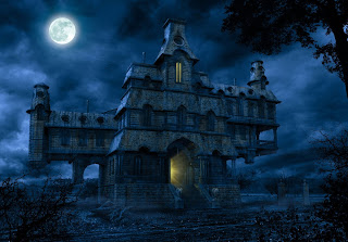 Free Haunted House Wallpaper