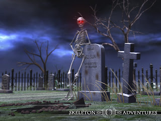 Skeleton Adventures Wallpaper